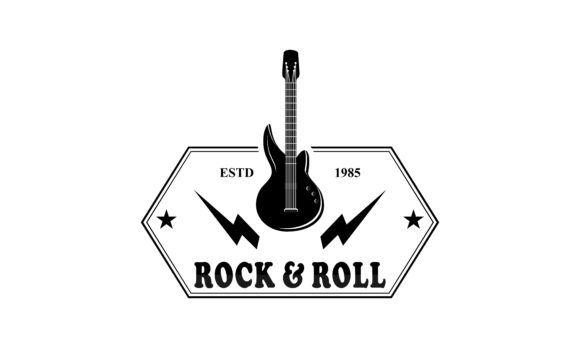 Acoustic Guitar Electric Guitar Design Graphic By Deemka Studio Creative Fabrica Guitar Design Electric Guitar Design Electric Guitar