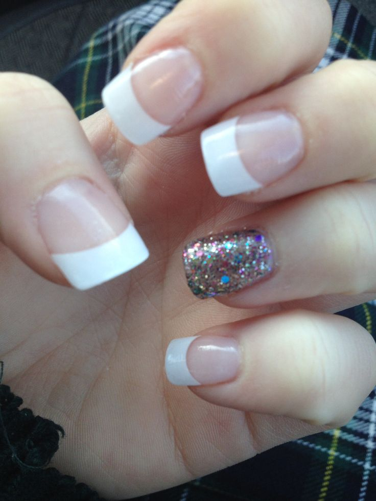 My nails for Here's My Heart.  Homecoming nails, prom, formal, nails, acrylic