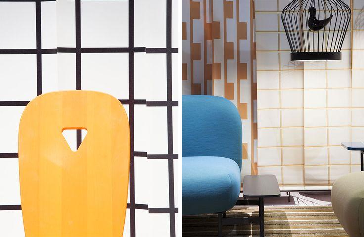 La Dina chair, N=N05 sofa, Twee T lamp #casamania