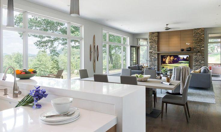 Best 25 prairie style homes ideas on pinterest prairie style houses contemporary house plans for Prairie style kitchen design