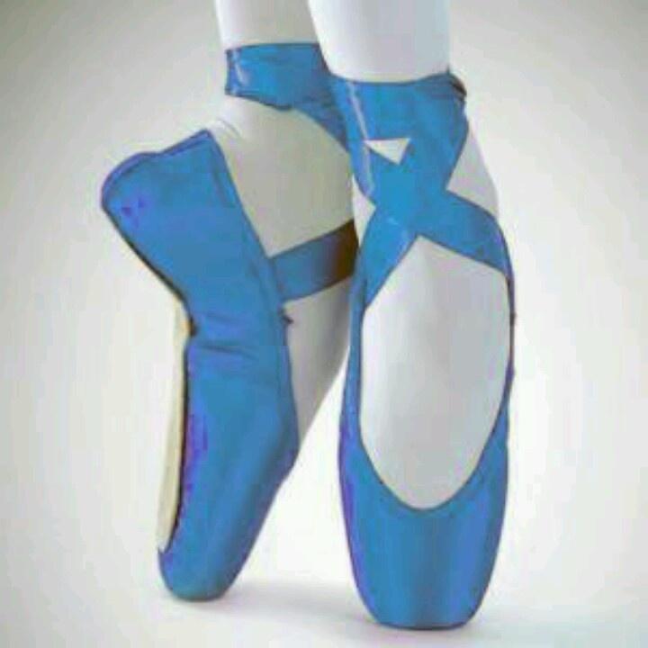 Blue Point Ballet Shoe