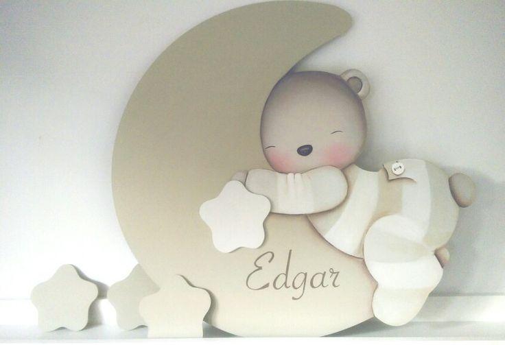 Silueta de madera decoraci n infantil pinterest - Siluetas madera infantiles ...