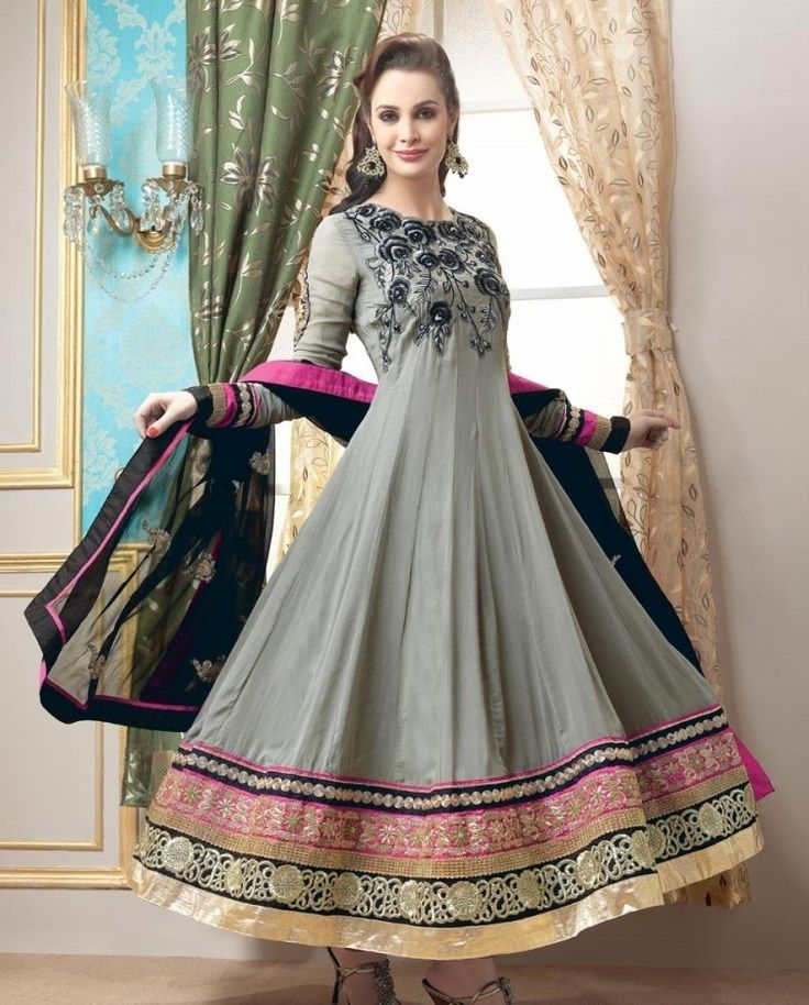 Latest Fashion Indian and Pakistani Frock Designs 2017 | BestStylo.com
