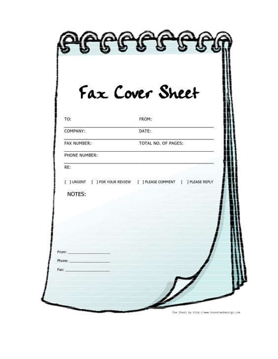 25 best ideas about Cover sheet template – Sample Fax Cover Sheet