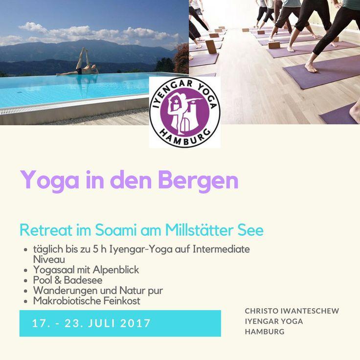 Iyengar Yoga Retreat in Österreich mit Christo. Anmeldung http://www.yoga-hamburg.de/index.php/de/termine/yoga-ferien