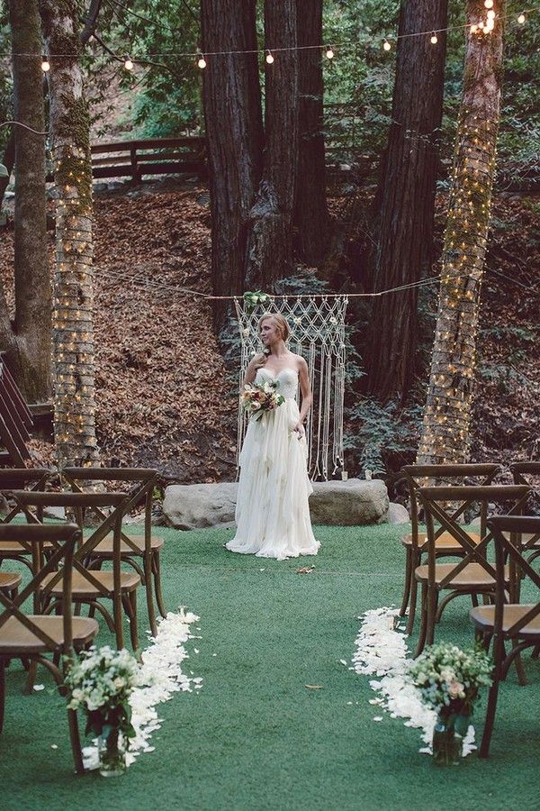 Gallery: rustic outdoor wedding ceremony ideas - Deer Pearl Flowers