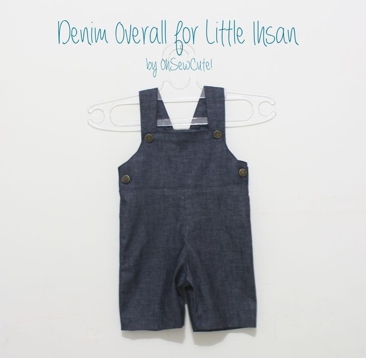 Denim Overall Tutorial