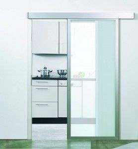 das inova schiebet r system swing mit mattiertem glas und alu profil schiebet ren sind. Black Bedroom Furniture Sets. Home Design Ideas