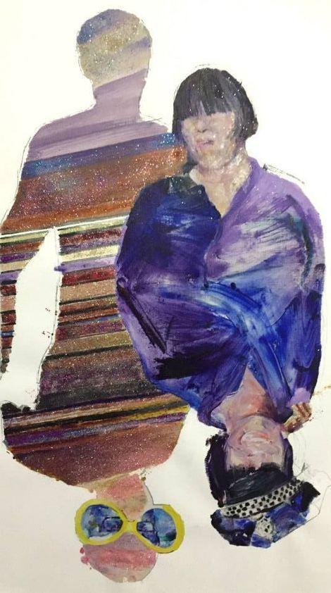 Bradley O'Brien, Charles & Julie 2 - the Art Groupie Set on ArtStack #bradley-o-brien #art
