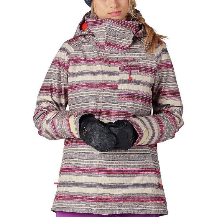 Burton - AK 2L Embark Gore-Tex Jacket - Women's - Agave Stripe