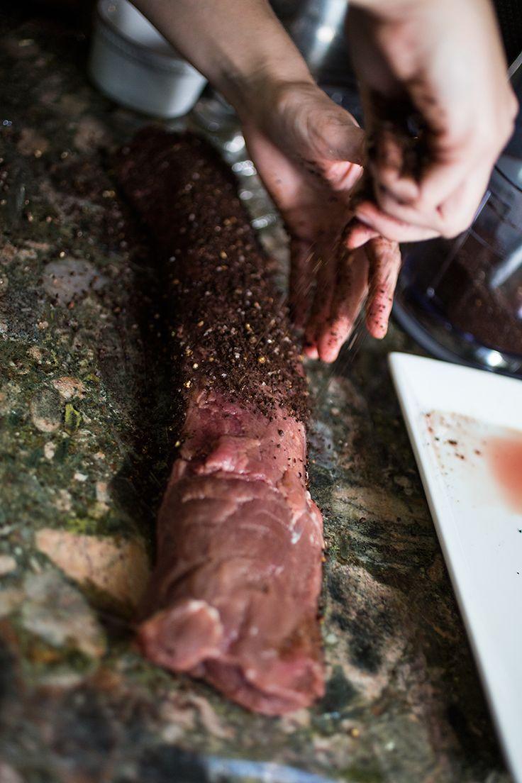 Venison rub and marinades
