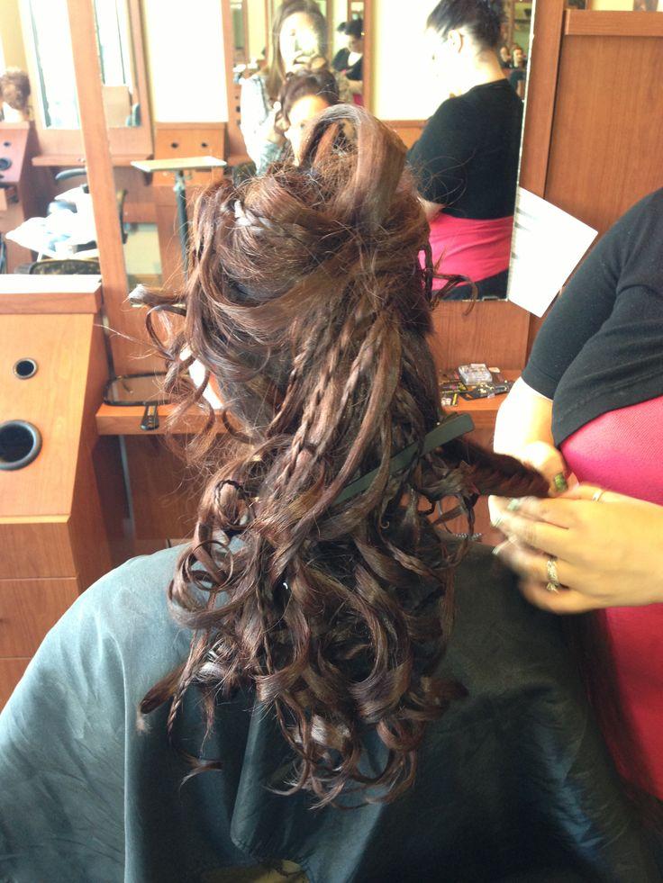 Elite Body Bronzing Hair fashion show!