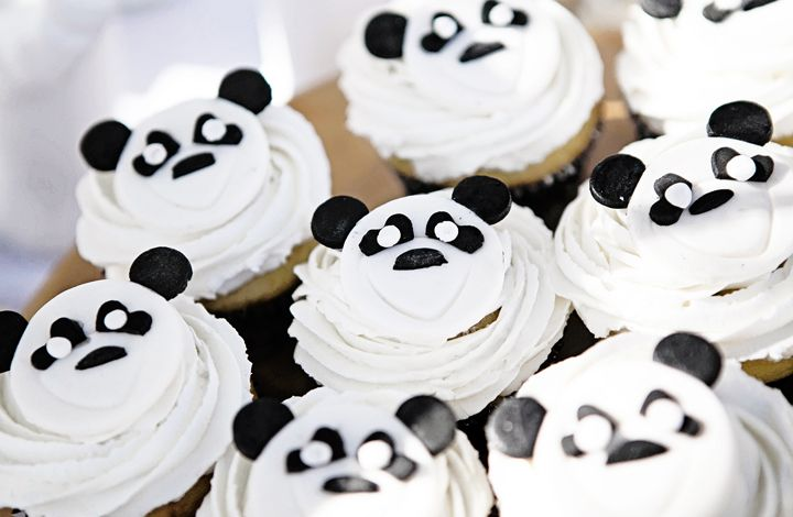 panda black and white party