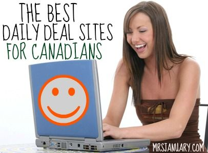 Canadian Daily Deals – The Best Sites via MrsJanuary.com - If you live in Canada, these are the absolute BEST daily deal sites that you should be paying attention to, if you want to save the most amount of money and get the best deals!