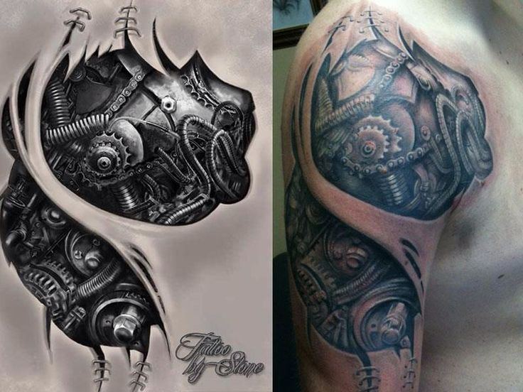 Mechanic tattoo designs - photo#18