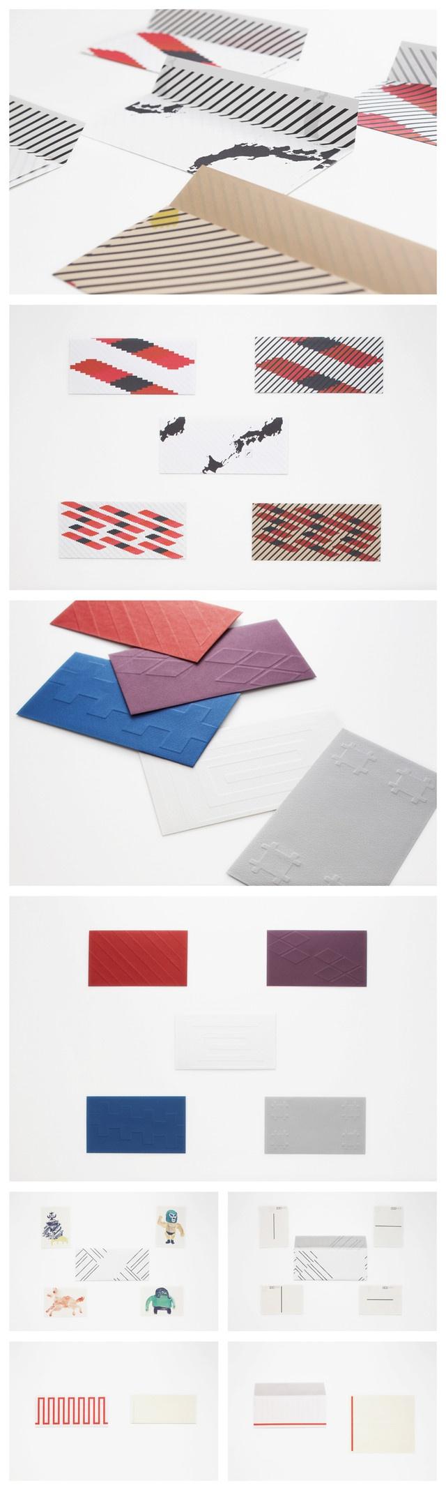 封筒のデザイン