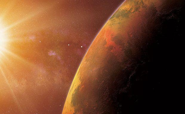 Planeta Gisele 581 e o sistema Gisele com seus quatro planetas