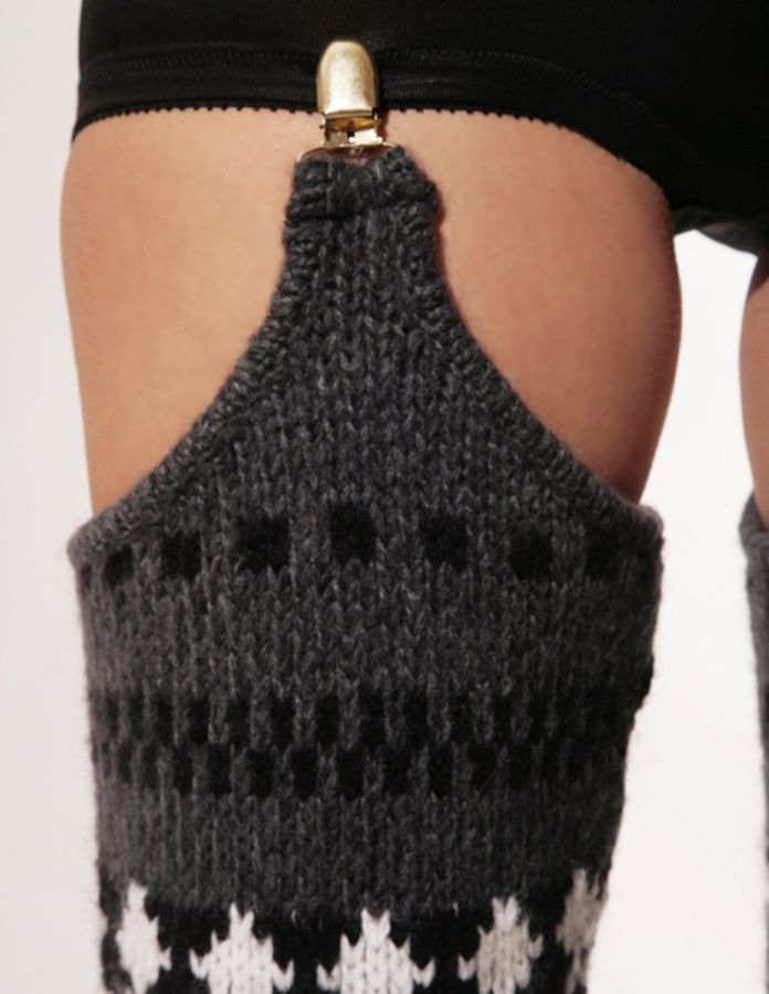 Spring and Clifton thigh high leg warmers 3