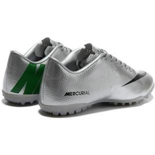 brand new 69b89 4e5a1 ... httpwww.asneakers4u.com Nike Mercurial Vapor IX TF Silver Black