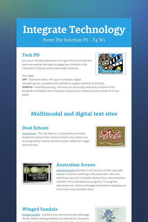 Integrate Technology T4W1