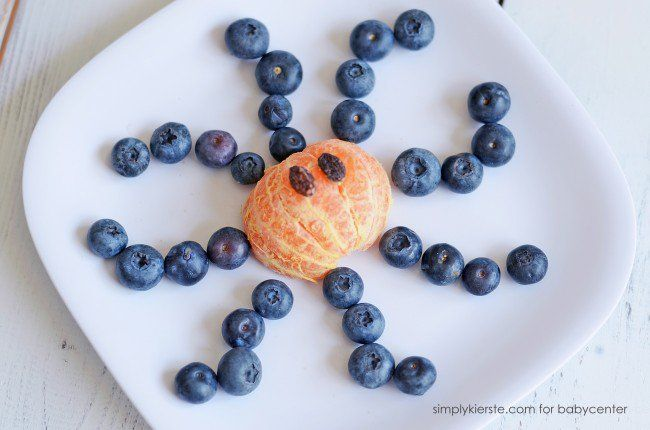Blueberry  amp  Orange Octopus
