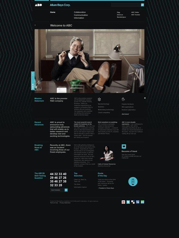 Allure Bays Corp. — AcademyGraphics Webdesign