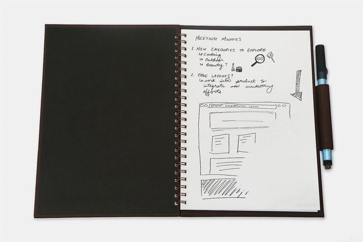 Wipebook Pro Whiteboard Notebook | 200+ Sold | Exclusive Price and Reviews | https://www.massdrop.com/buy/wipebook-pro | Discover more Paper  on @massdrop | Write, draw, erase, repeat—with the innovative Wipebook Pro, there's a new whiteboard on every page. Great for...