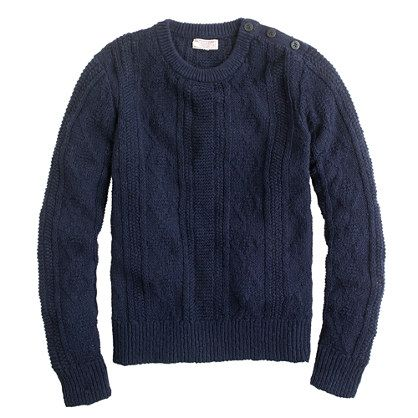Wallace & Barnes chunky cable sweater  	  Wallace & Barnes chunky cable sweater