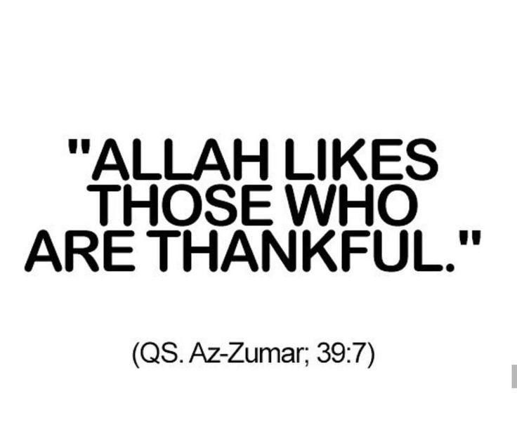Alhamdulillah Qur'an verse