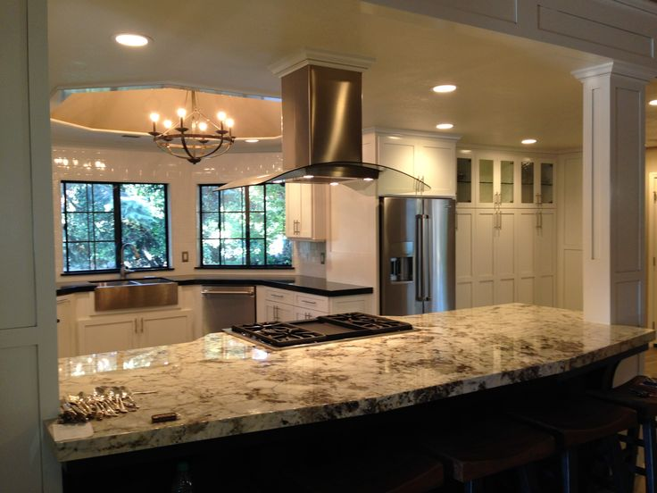 17 Best Ideas About Half Wall Kitchen On Pinterest Kitchen Open To Living Room Kitchen With