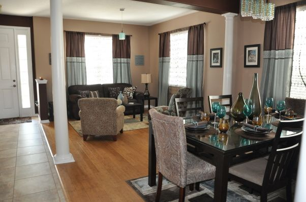 57 best brown taupe and aqua images on pinterest home - Brown and aqua living room pictures ...