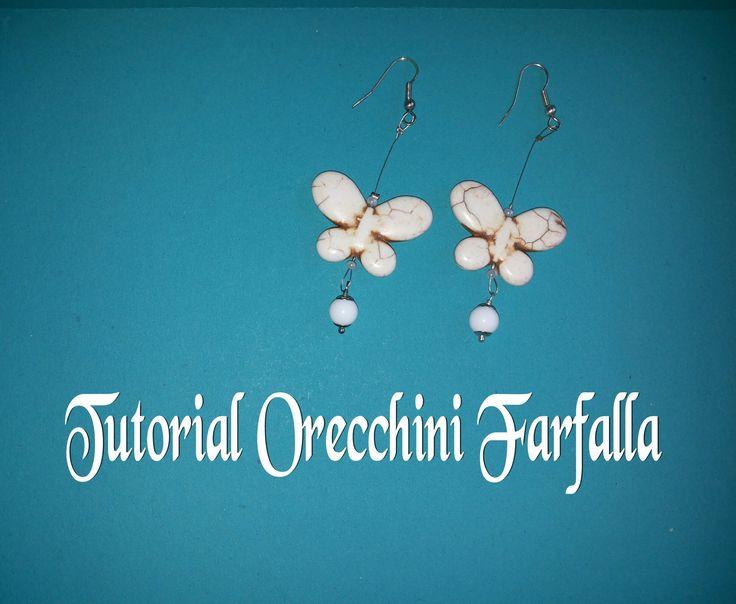 DIY-Tutorial orecchini con farfalla