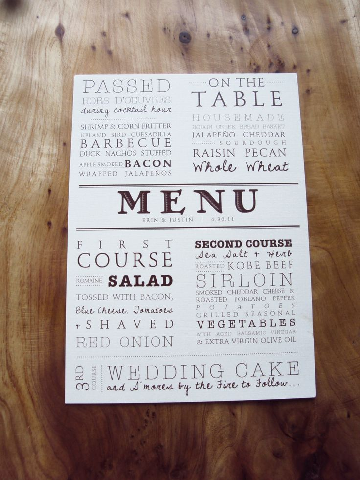 1000 ideas about menu cards on pinterest wedding menu wedding menu cards and invitation cards. Black Bedroom Furniture Sets. Home Design Ideas
