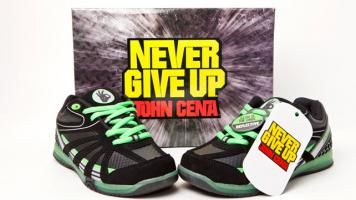 Go back to school dressed like #JohnCena with these authentic in-ring sneakers on sale now and only at #Kmart!
