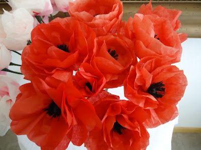 12 Gorgeous Tissue Paper Flower Tutorials -- must do for Kentucky Derby!