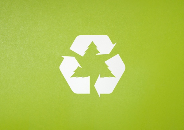 Receycle at Xmas by Ben  Cox, via Behance #recycle #environmental #upcycle