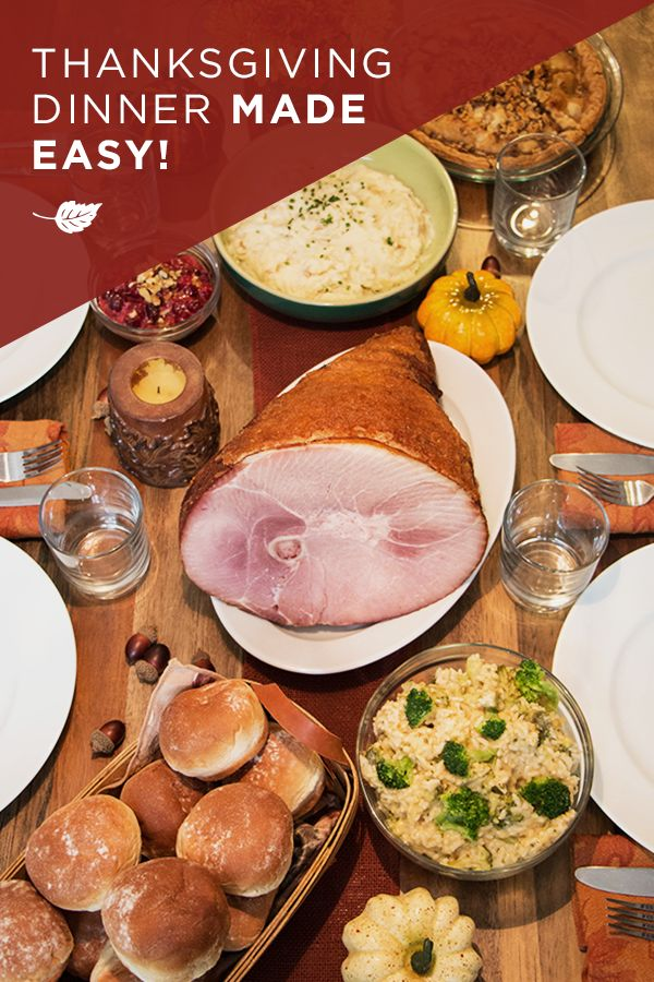 Honey Baked Ham®, heat & serve sides and desserts make Thanksgiving effortless. Find your local store to start planning for the holidays.
