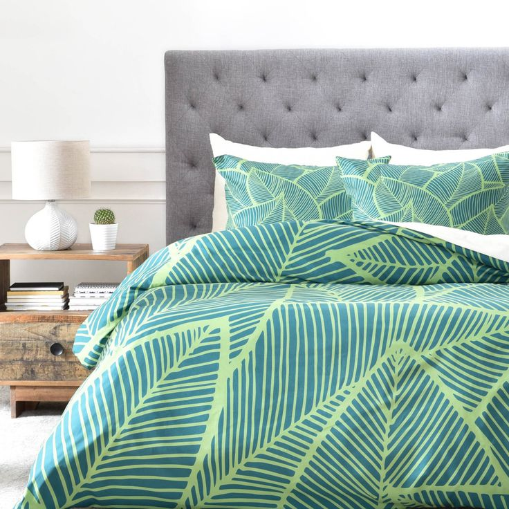 Arcturus Lime Green Duvet Cover by DENY Designs - 39263-DLIKIN