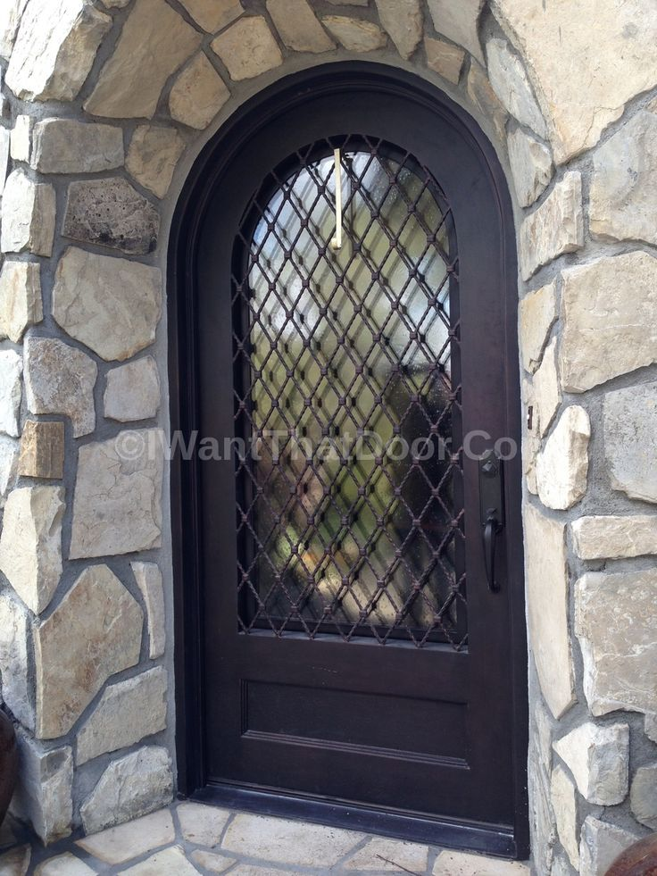 153 Best Images About Wrought Iron Doors On Pinterest