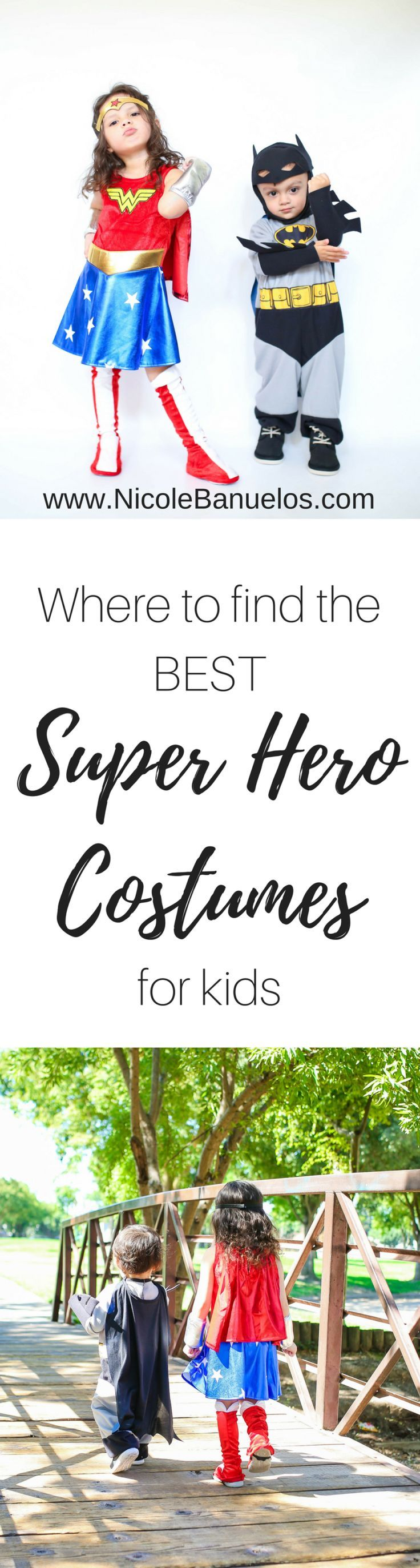 Where to find the BEST Superhero costumes for kids