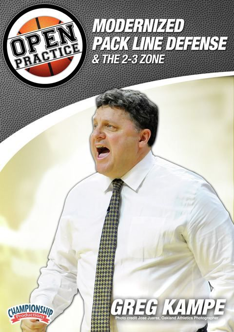 Greg Kampe - Open Practice: Modernized Pack Line Defense and the 2-3 Zone - Coach's Clipboard #Basketball DVD Store