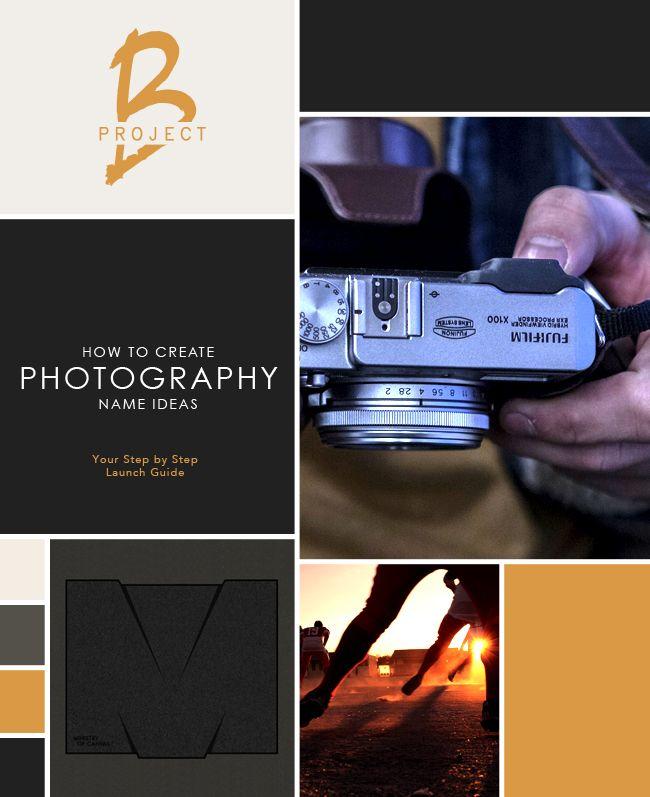 Photography Name Ideas