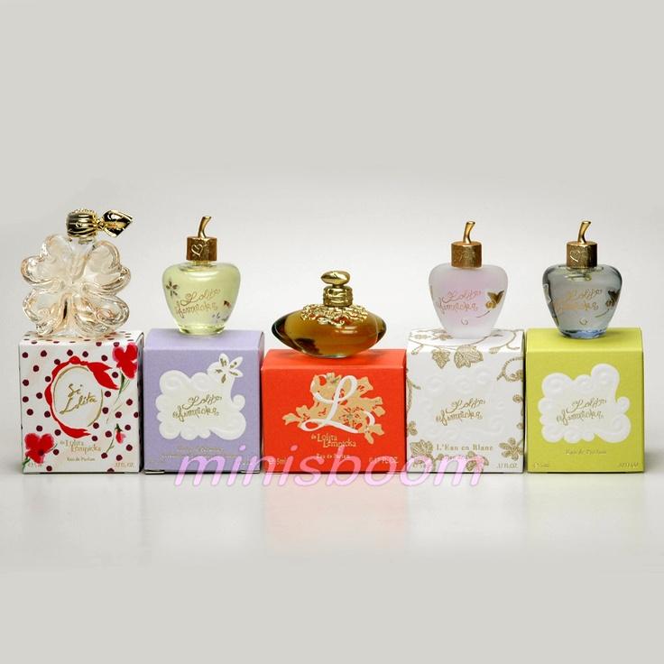 perfumes pequeños