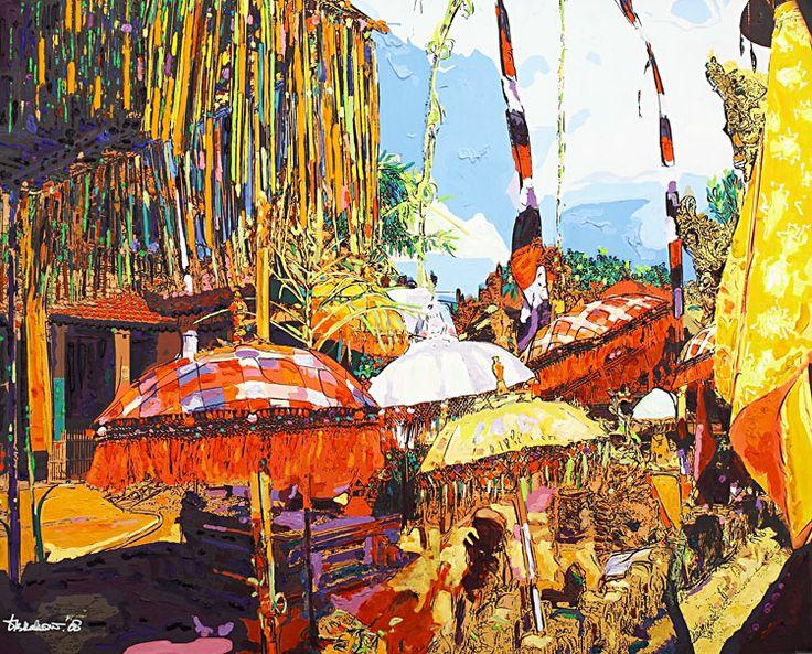 Dandung B Kahono - Odalan Pura di Desa Batu Bulan - Bali