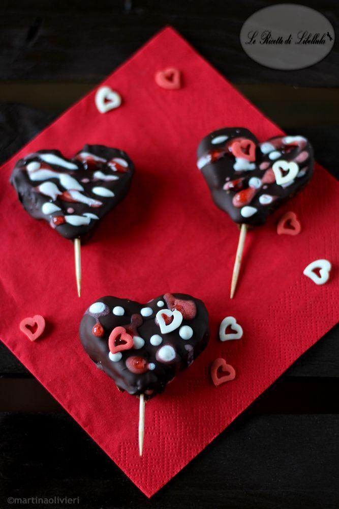 cake pops a cuore per San Valentino