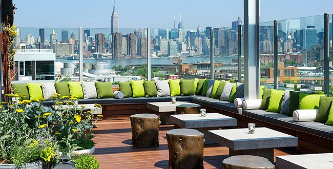 Nyc S 10 Best Bars And Restaurants For Rooftop Drinking Upper Elm160 N 12th St Brooklyn 718