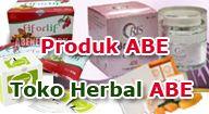 Produk ABE yang dijual di Toko Herbal ABE ini 100% terbuat dari herbal murni. Aman bagi kesehatan Anda.  # Fiforlif | Detox pencernaan sekaligus bikin perut ramping # Oris | Membuat payudara kencang dan indah berisi # Hirvero | Solusi atasi bermacam penyakit # Sabun Felice | Meremajakan kulit Anda # Collagen Drink | membantu memperkuat tulang # Feminique Lingerie | Langsing tanpa obat