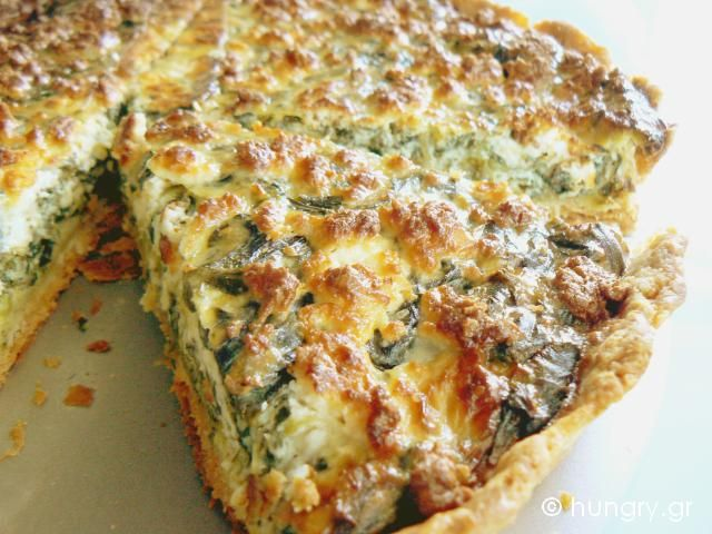 Kitchen Stories: Spinach Feta Tart