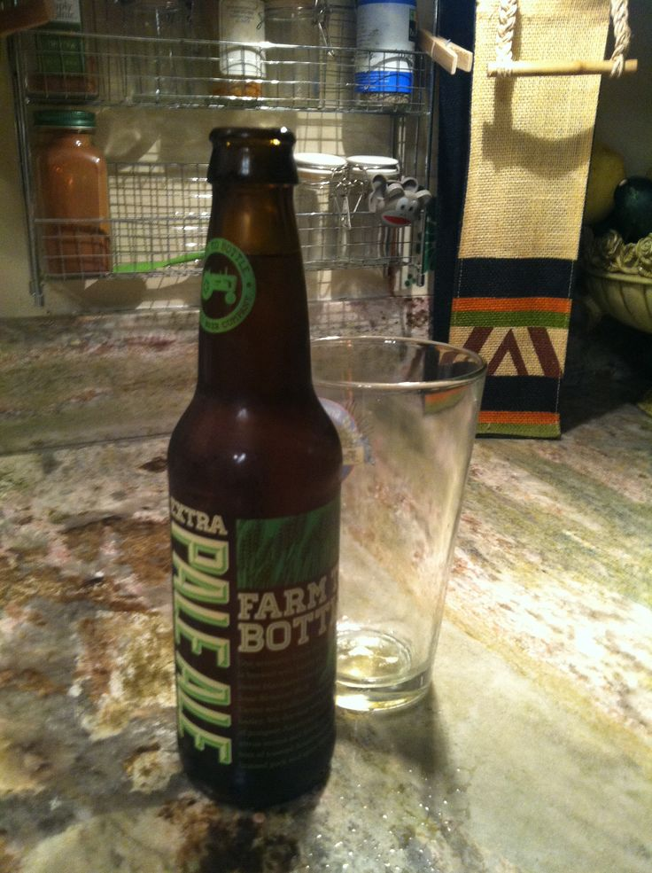 Almanac Brewing Company's Farm To Bottle Extra Pale Ale. Totally AWESOME!!
