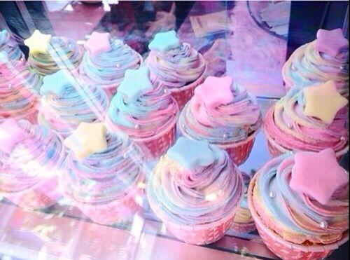 Fairy Kei cupcakes